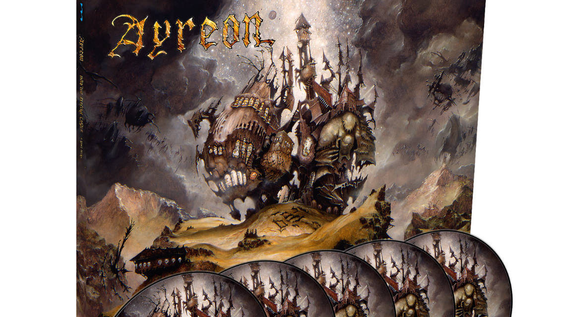 «INTO THE ELECTRIC CASTLE» de Ayreon reeditado en vinilo