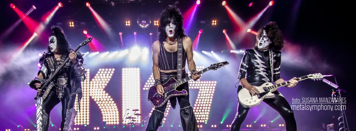 Kiss y su espectáculo del rock llenaron el WiZink Center de Madrid