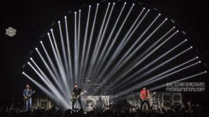 La noche americana de Nickelback y Seether en Madrid
