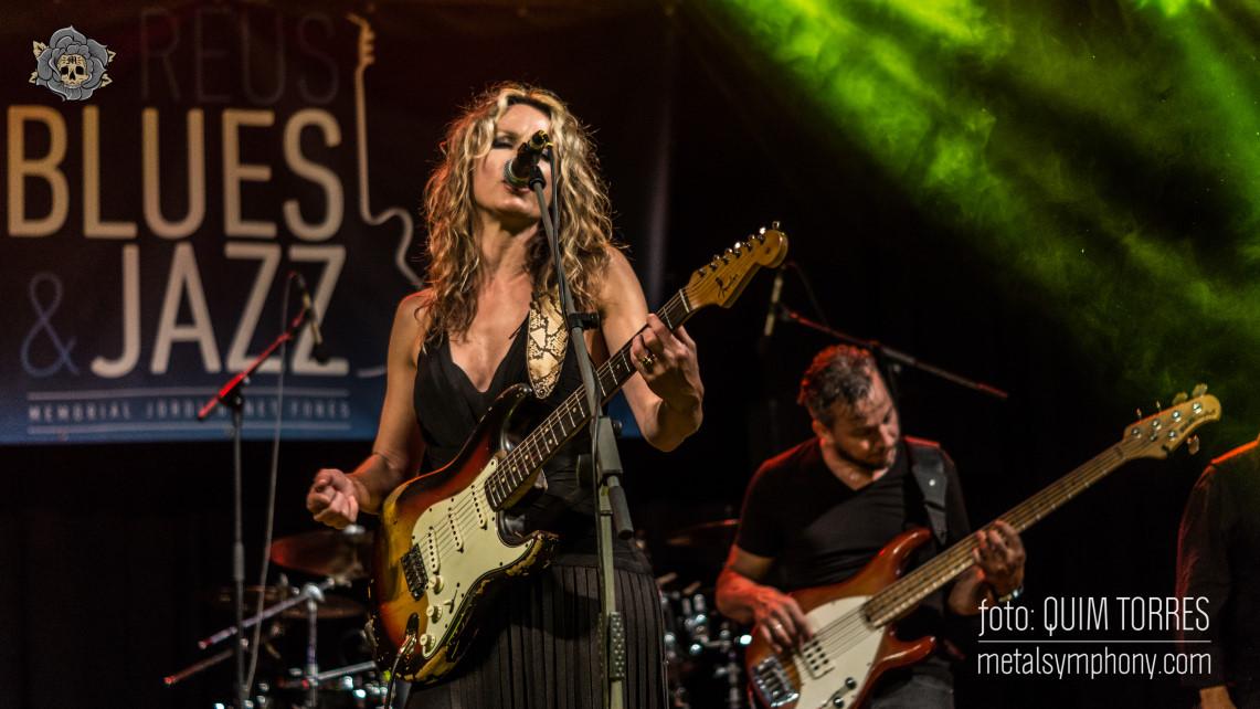 Ana Popovic corona la nueva edición del festival Reus Blues & Jazz