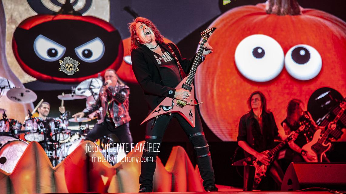 Helloween se vale por si solo para arrasar en el Rock Fest BCN'18