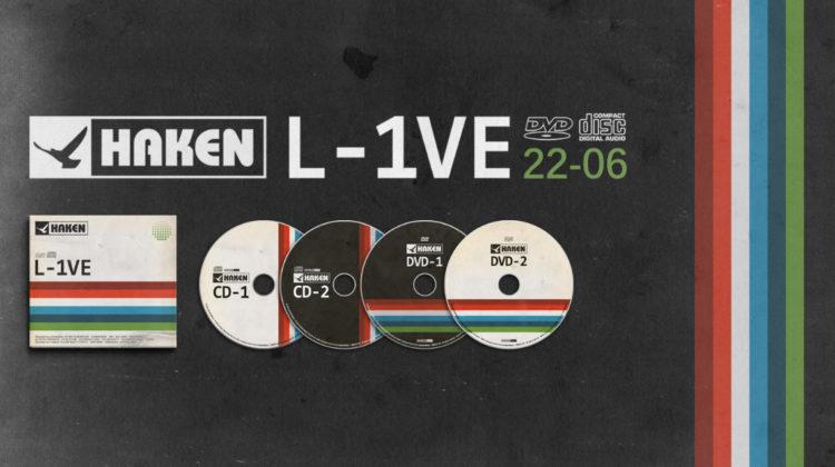 "Haken: ""L-1VE in Amsterdam // InsideOut Music"