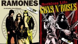 Las interioridades de Guns'n'Roses y Ramones en formato cómic