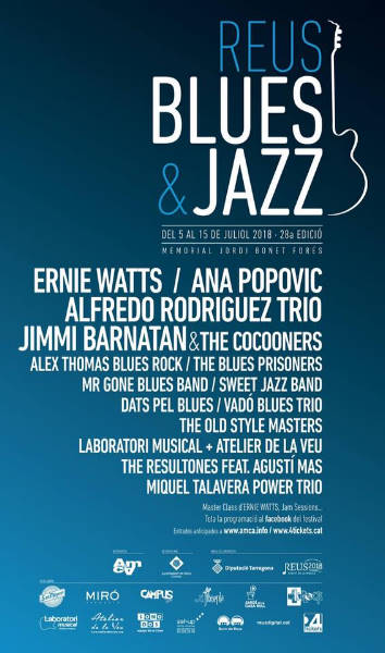 Ana Popovic al Reus - Blues & Jazz