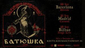 Batushka de gira por España
