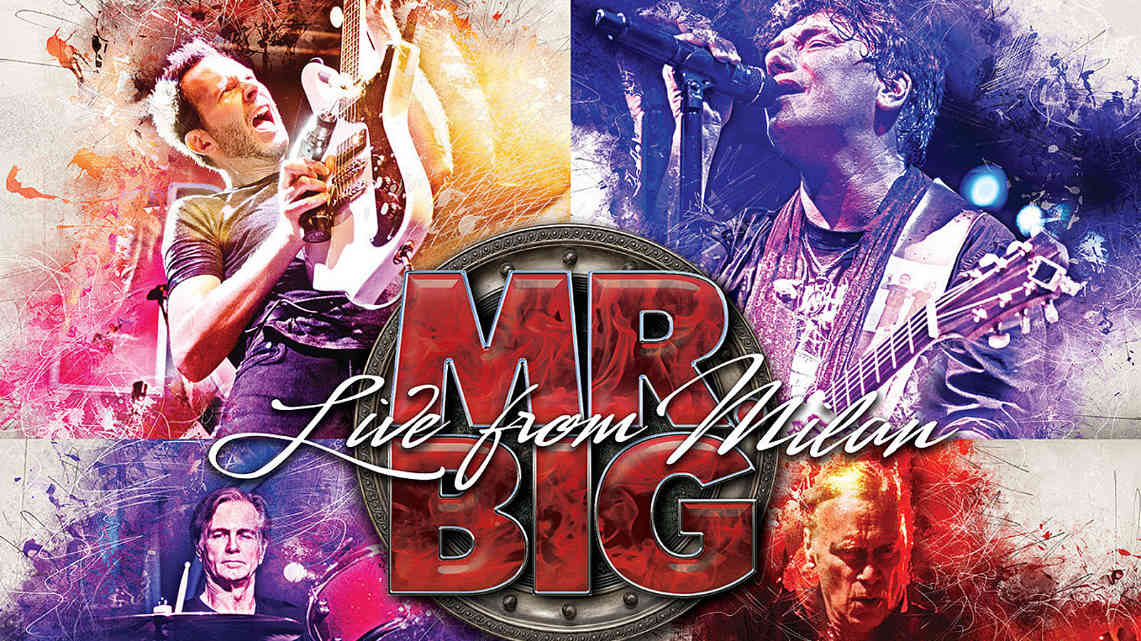 Mr. Big: Live from Milan // Frontiers Music