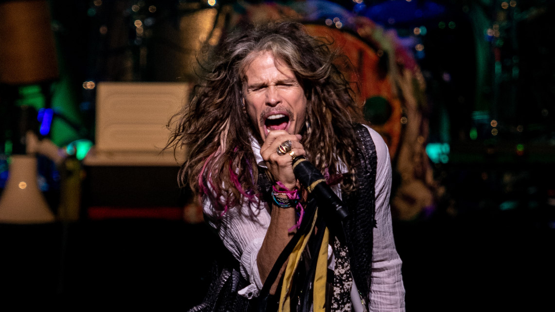 Una noche en el teatro con Steven Tyler de Aerosmith