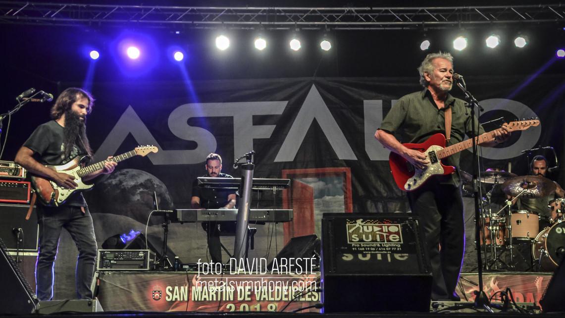 Asfalto, Dry River y Black Hole estrenaron el GlobalRock Festival