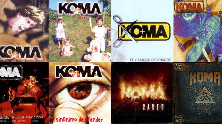 Repasamos la carrera de KOMA a través de sus mejores temas