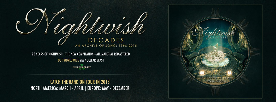 Nightwish: Decades- An Archives Of Song 1996-2015 // Nuclear Bast