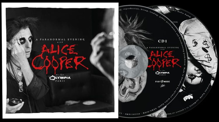 Alice Cooper: A Paranormal Evening At The Olympia Paris // EarMusic