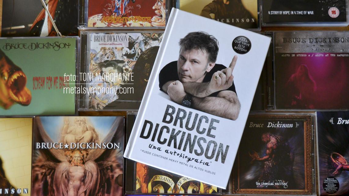 Una semana para que Bruce Dickinson presente su autobiografía en Madrid