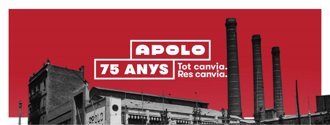 Apolo: 75 años sin parar de bailar – Eva Espinet // Editorial Comanegra
