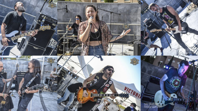 Una jornada de conciertos culmina el IV Rock & Metal Encounter de Jaén