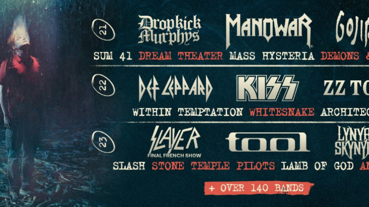 Cartel completo del Hellfest'19