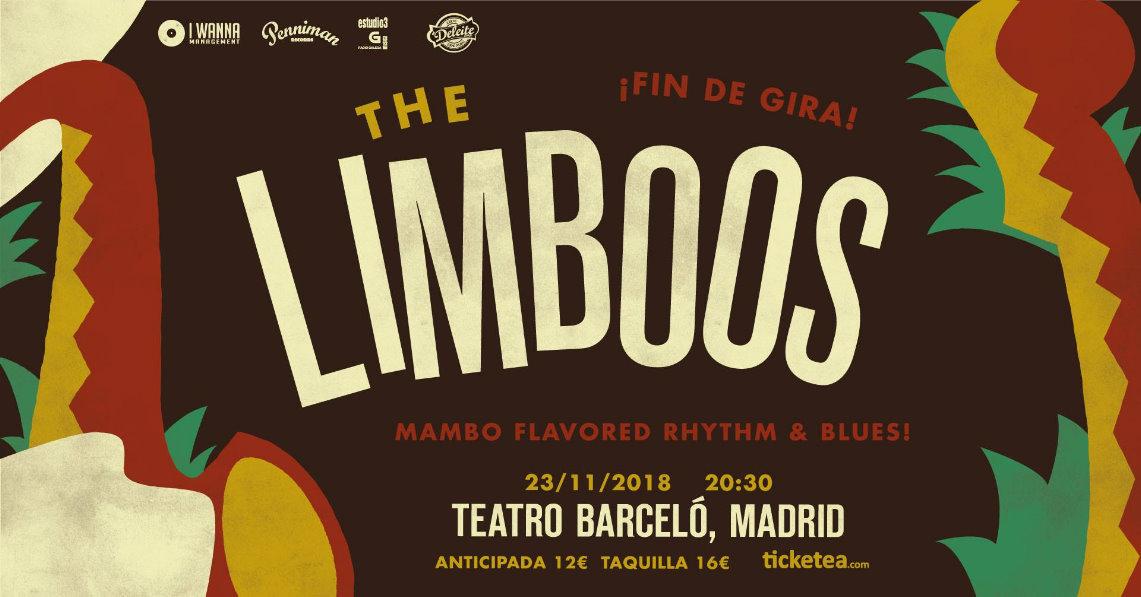 The Limboos acaban gira este viernes en el Teatro Barceló