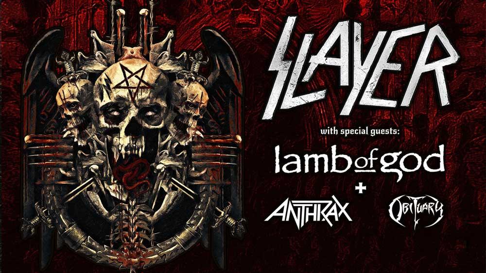Se acerca la gira final de Slayer a España