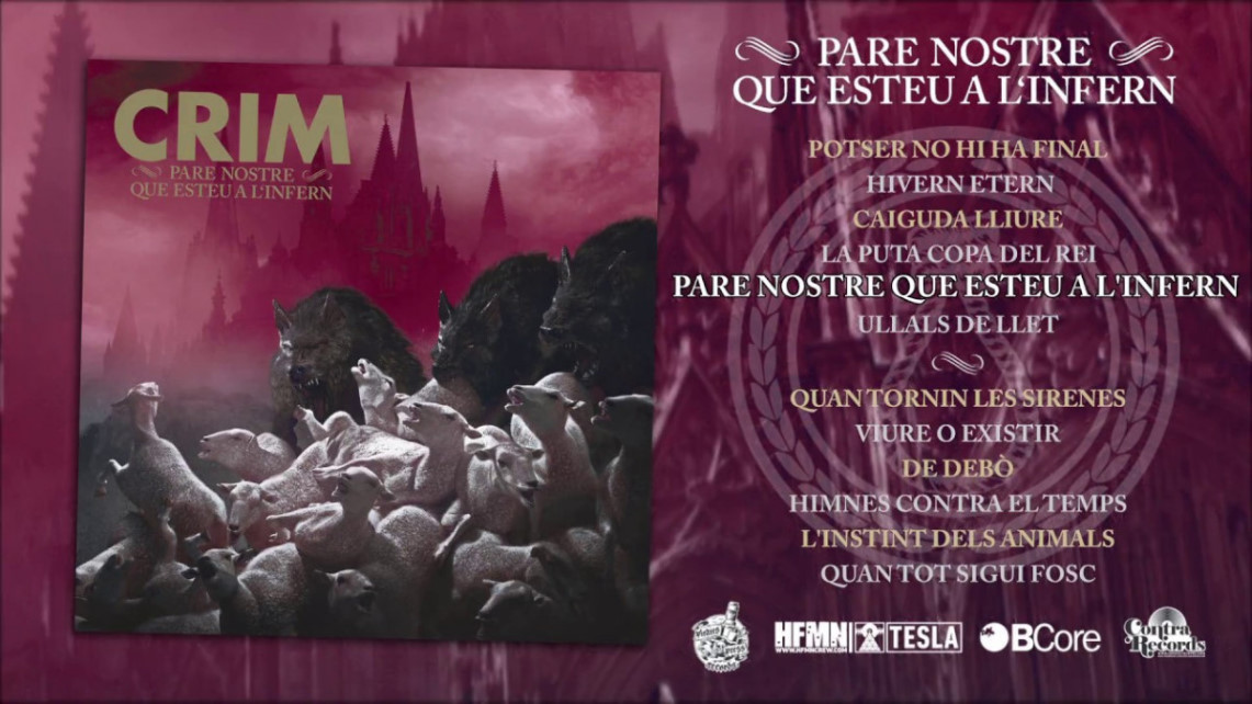Crim: Pare Nostre Que Esteu A L'infern // Bcore Disc, Contra Records, Pirates Press Records