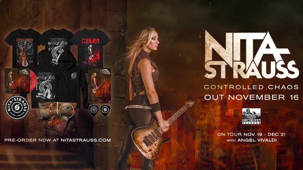 Nita Strauss: Controlled Chaos // Sumerian Records