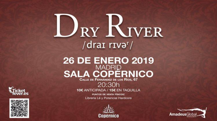 """Madrid Vuelve Al """"2038"""" Con Dry River Y Su Próximo Concierto En La Capital"""