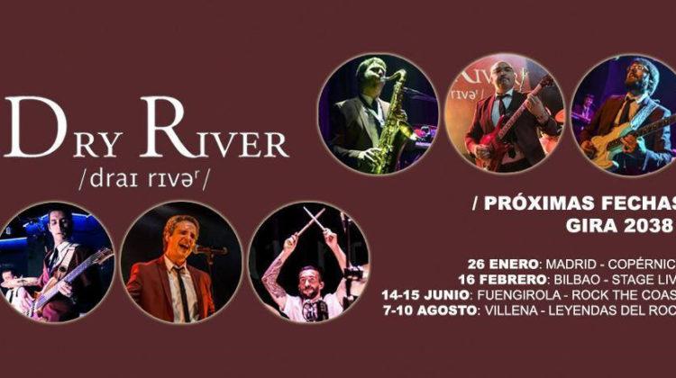 Dry River ultiman los detalles para su concierto especial en Madrid este fin de semana
