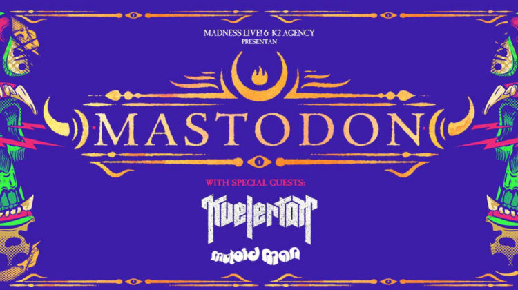 Setlist de la gira europea de Mastodon