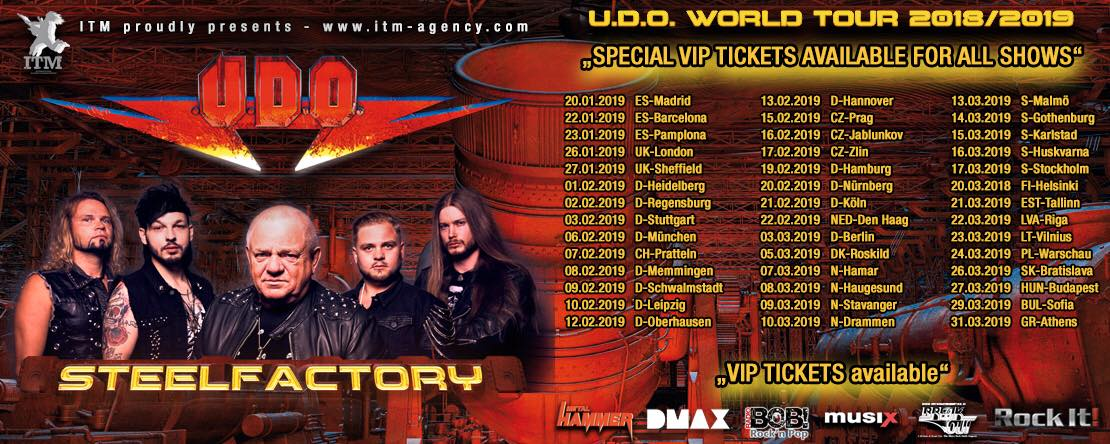 U.D.O: Steelfactory // AFM Records