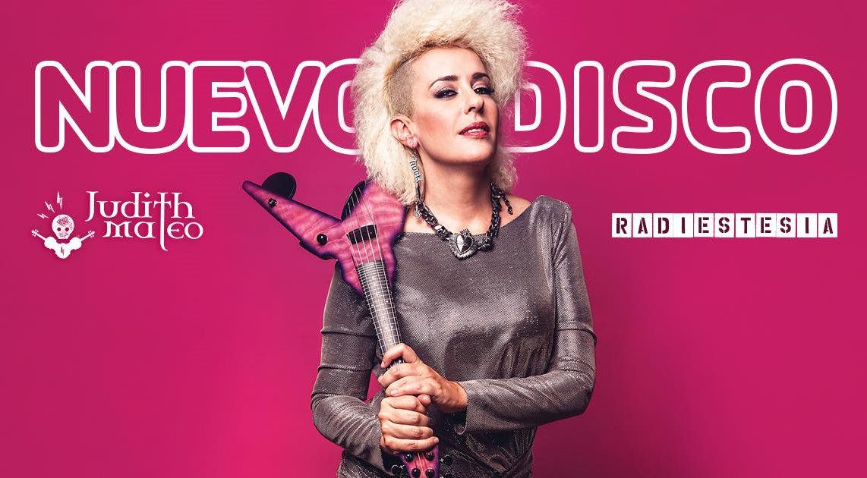 Judith Mateo presenta disco en Madrid