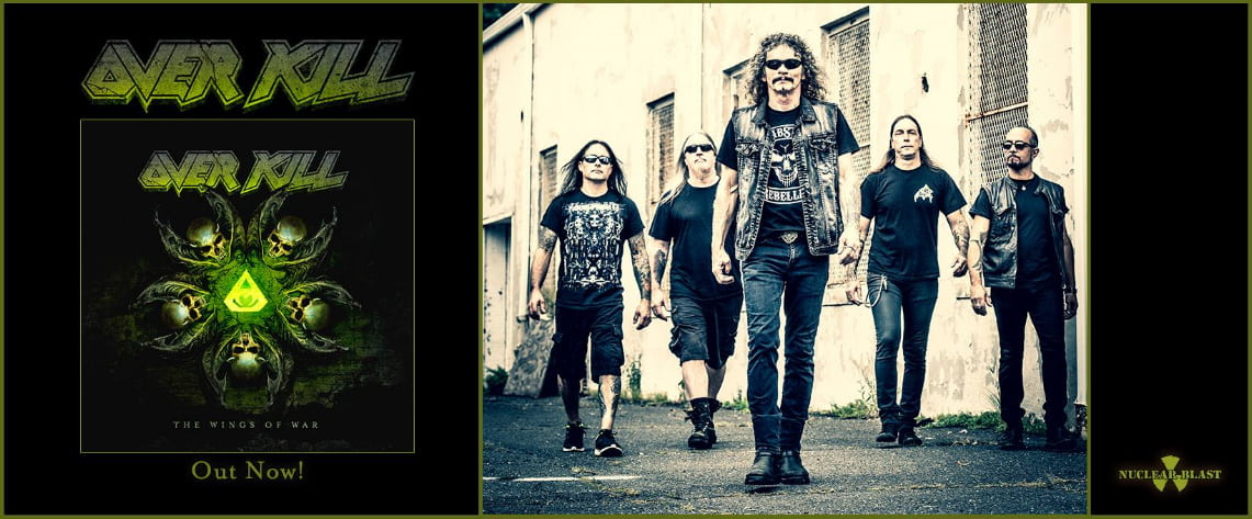Overkill: Wings of War // Nuclear Blast Records