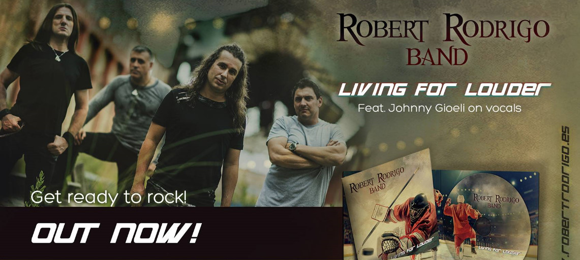 Robert Rodrigo: Living for Louder // Autoeditado