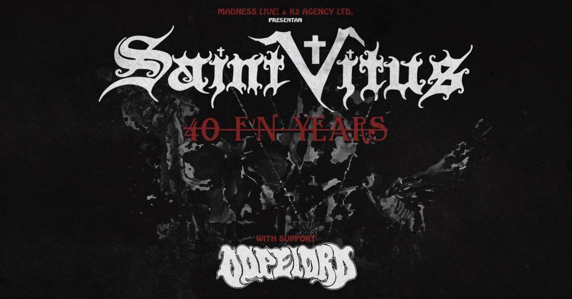 Gira aniversario de los 40 años de Saint Vitus
