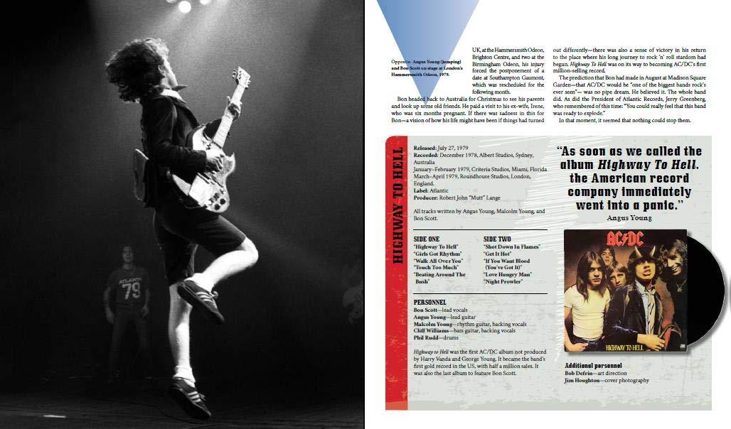 AC/DC: Desde los inicios hasta Rock Or Bust – Paul Elliot // Editorial Blume
