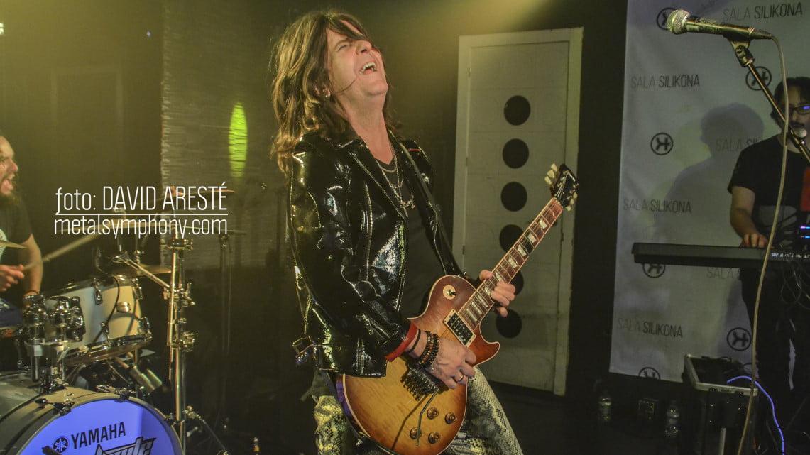 La nostalgia aprueba el concierto de Kee Marcello en Madrid