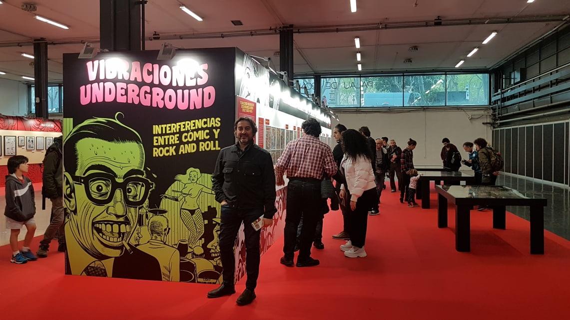 Entrevista a Javier Panera sobre «Vibraciones Underground»
