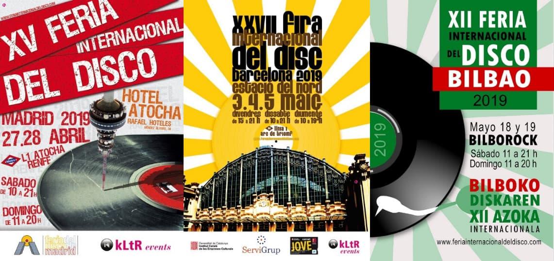 Nuevas ediciones de la Feria Internacional del disco