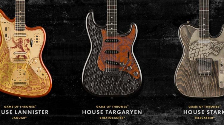 Fender saca una edición limitada de guitarras inspiradas en Juego de Tronos