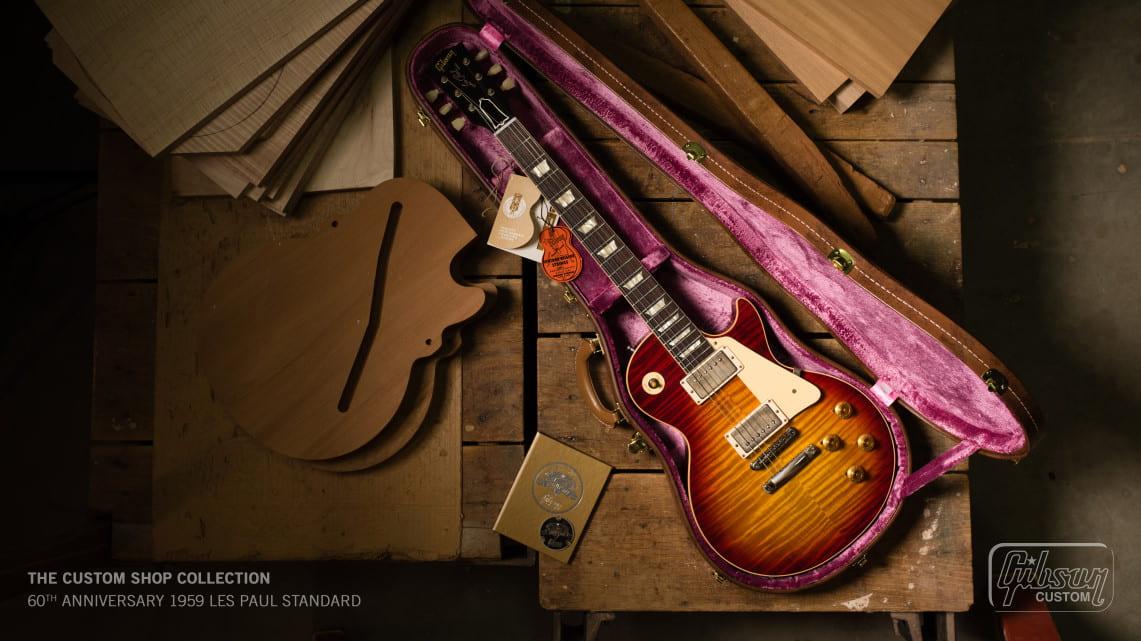 Gibson: Presenta las NUEVAS colecciones: Original, Moderna y Custom Shop