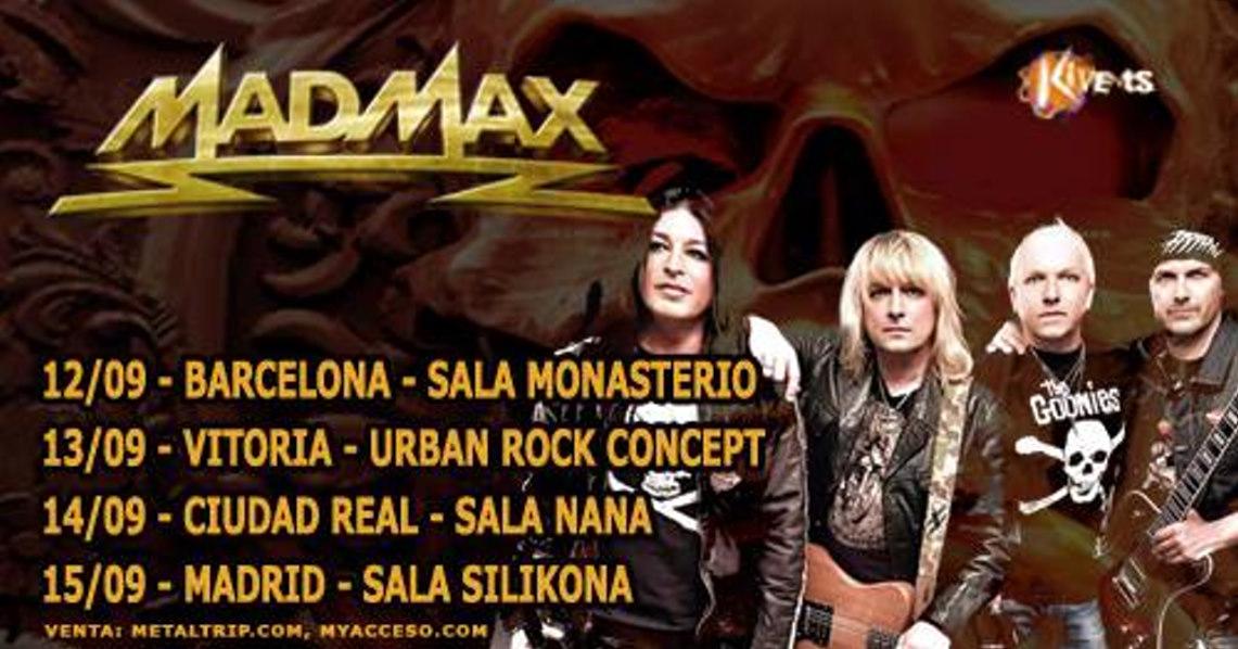 Gira española de Mad Max