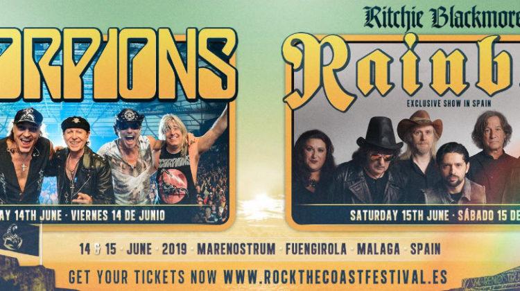 Horarios para el Rock the Coast 2019