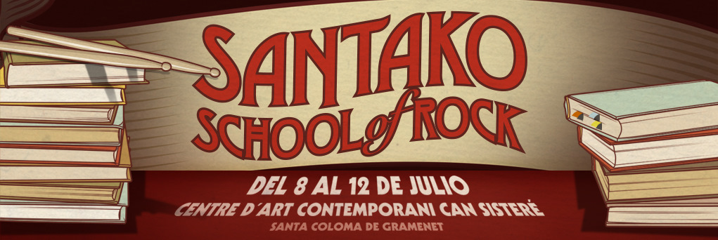 Información de la primera Santako School of Rock