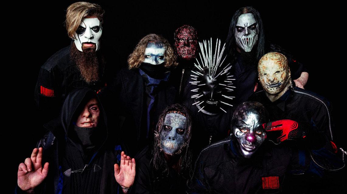 La evolución de Slipknot a través de sus máscaras