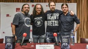 """Presentación de """"Heavy-y-metal"""" en Madrid, visión conjunta del metal desde España"""
