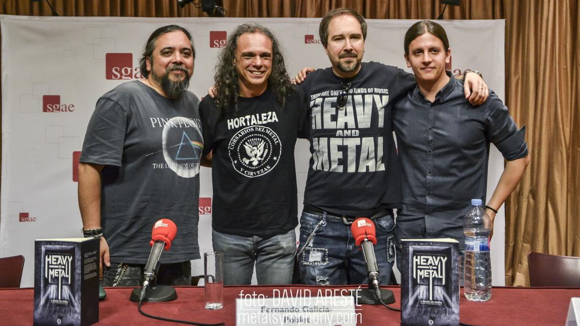 Presentación de «Heavy-y-metal» en Madrid, visión conjunta del metal desde España