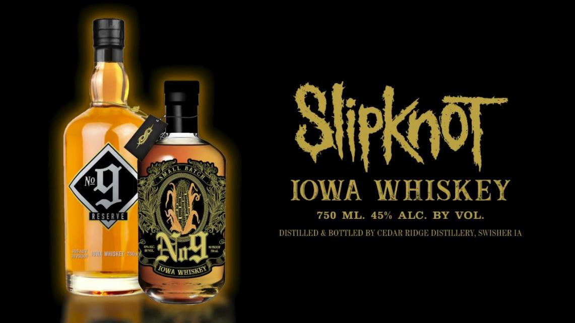 Detalles del whiskey de Slipknot