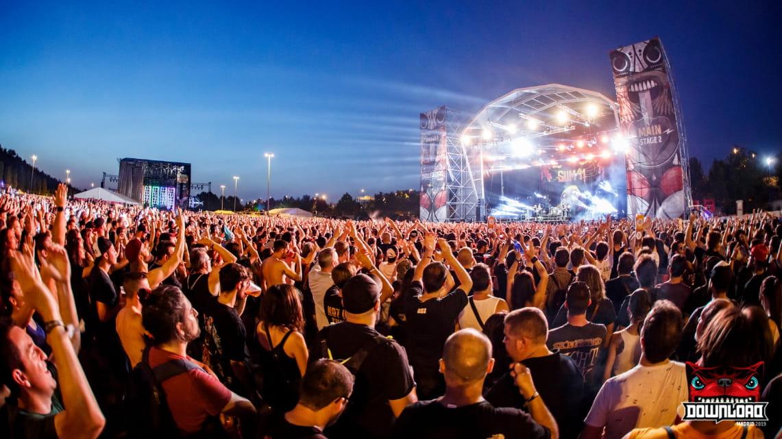 Datos y asistencia al Download Festival'19