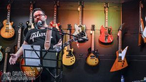 Puesta de largo de las nuevas Gibson en Madrid