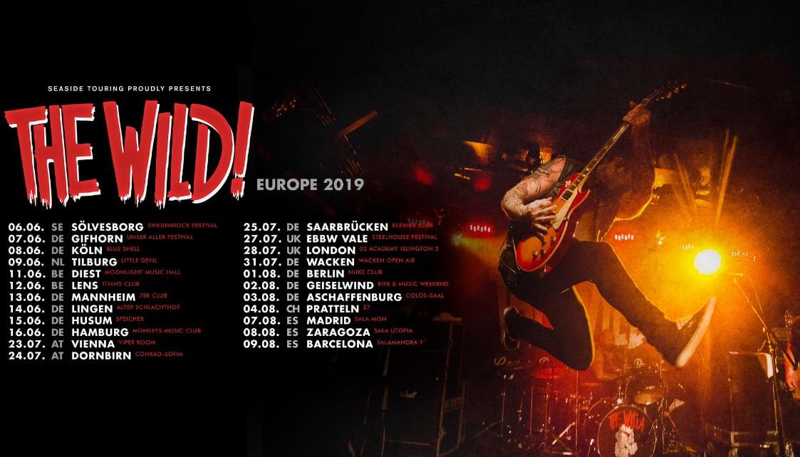 Setlist de la gira de The Wild!