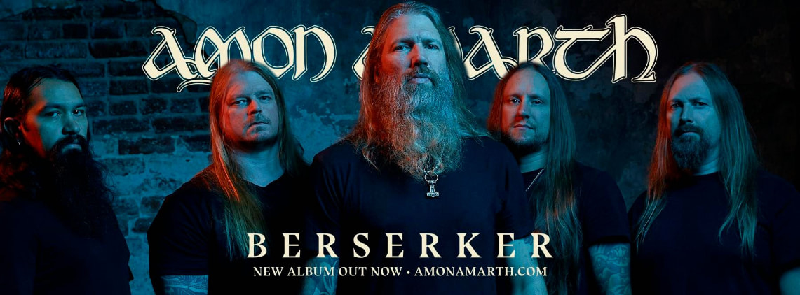 Amon Amarth: Berserker // Metal Blade Records (Sony Music)
