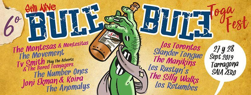 Lista otra edición del Bule Bule Toga Fest en Tarragona