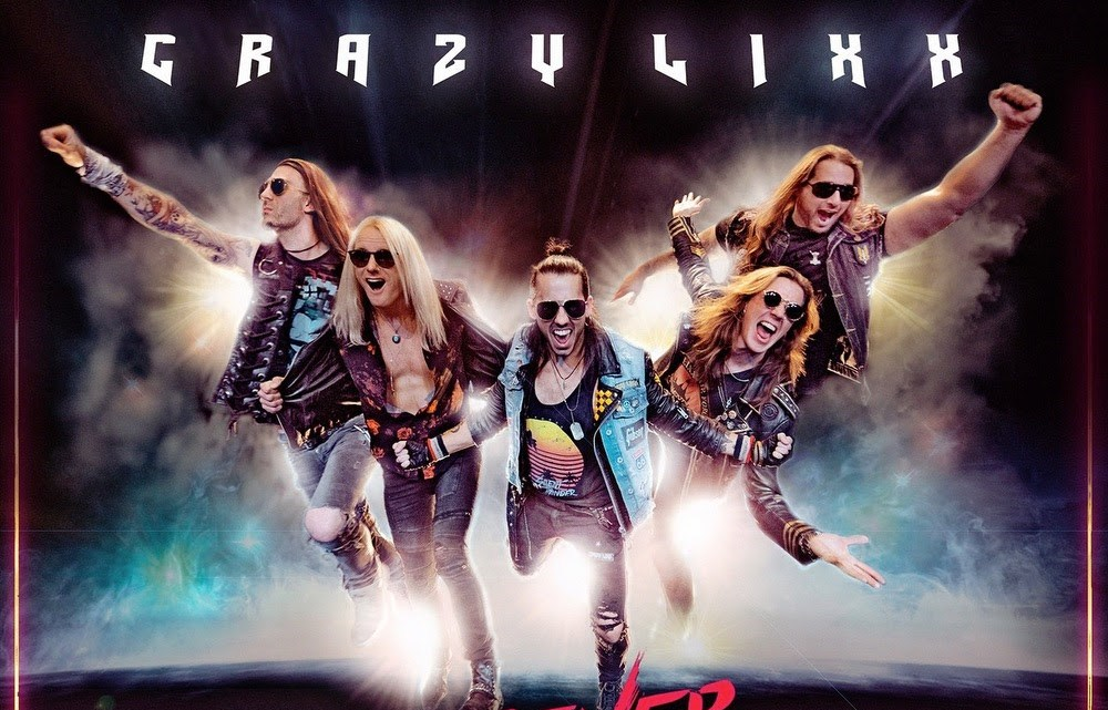 Crazy Lixx: Forever Wild // Frontiers Music